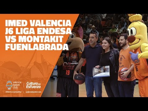 IMED Valencia en J6 Liga Endesa vs Montakit Fuenlabrada