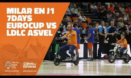 MILAR en J1 7DAYS Eurocup vs LDLC Asvel