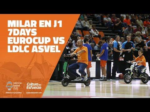 MILAR en J1 7DAYS Eurocup vs LDLC Asvel