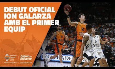 Ion Galarza debuta con el primer equipo