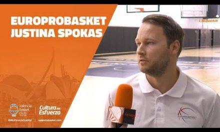 Europrobasket: Justina Spokas