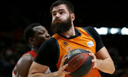 Un imparable Dubljevic lidera el triunfo de Valencia Basket (89-76)