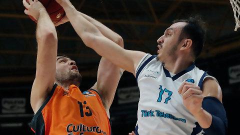 Valencia Basket se gusta frente al Turk Telekom (101-83)