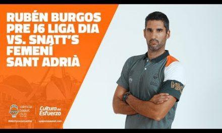 Rubén Burgos Pre J6 vs. Snatt's Femení Sant Adrià