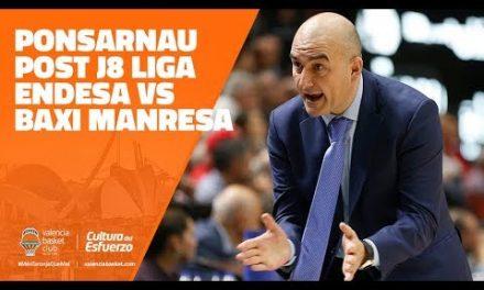 Ponsarnau post J8 Liga Endesa vs Baxi Manresa