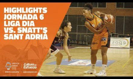 Highligts Jornada 6 LIGA DIA vs Snatt's Sant Adrià