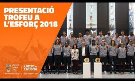 Presentación Trofeo al Esfuerzo 2018