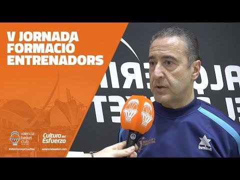 V Jornada formació entrenadors: Ángel Jareño