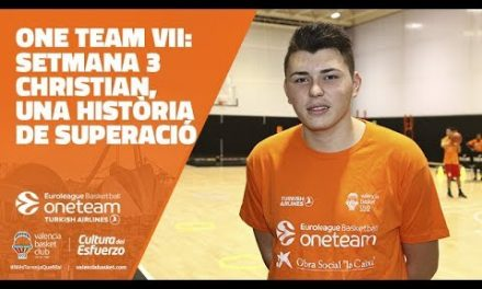 One Team VII: Jornada 3, Christian, una historia de superación.