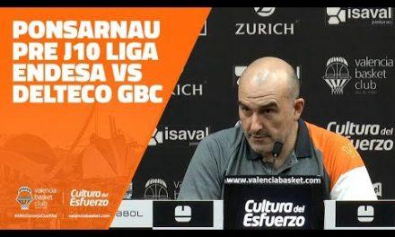 Ponsarnau pre J10 Liga Endesa vs Delteco GBC