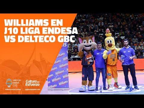 Williams en J10 Liga Endesa vs Delteco GBC