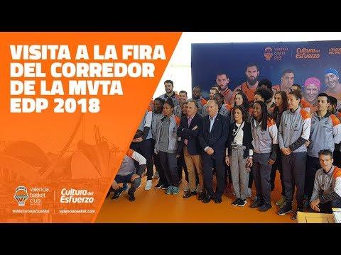 Valencia Basket visita la Feria del Corredor del MVTA 2018