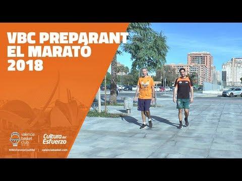 VBC preparant el marató 2018