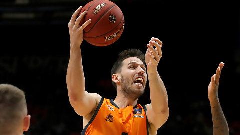 Valencia Basket somete al Zenit con un notable Van Rossom (97-89)