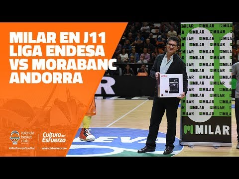 MILAR en J11 Liga Endesa vs Morabanc Andorra