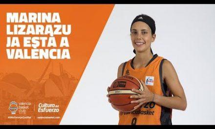 Marina Lizarazu ja està a València