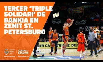 Tercer 'Triple Solidario' de Bankia en J9 7DAYS Eurocup vs Zenit