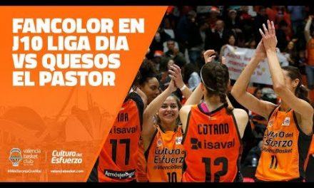 Fancolor en J10 Liga Dia vs Quesos El Pastor