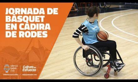 Jornada de bàsquet amb Cadira de Rodes en L'Alqueria