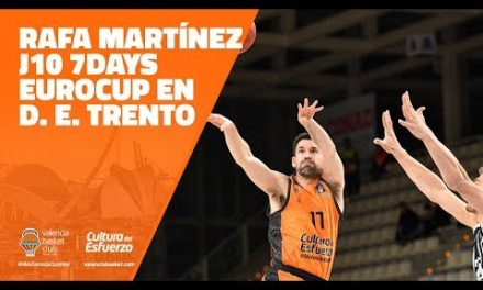 Rafa Martínez J10 7DAYS Eurocup en Dolomiti Energia Trento