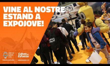 Valencia Basket, presente en la Feria de Expojove 2018