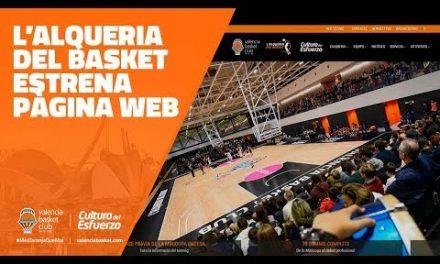 L'Alqueria del Basket estrena página web