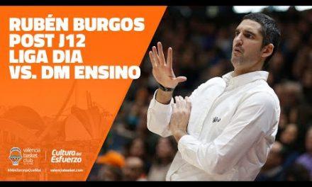 Rubén Burgos Post J12 LIGA DIA vs Durán Maquinaria Ensino