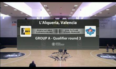 2018-19 Euroleague Basketball Adidas Next Generation Tournament Qualifier Valencia Round 2 – 29-12