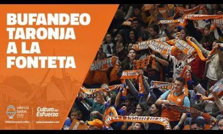 Bufandeo Taronja en la Fonteta
