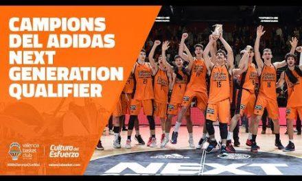 ¡Campeones del adidas Next Generation Tournament Qualifier!