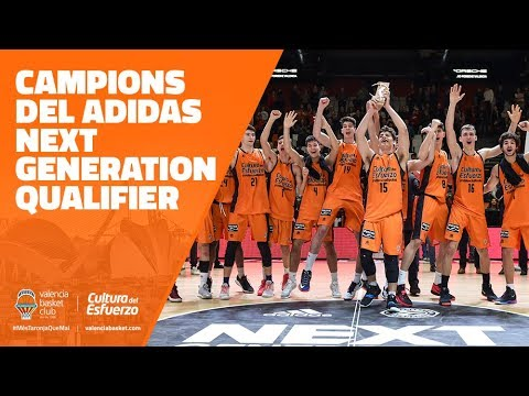 ¡Campeones del adidas Next Generation Tournament Qualifier!