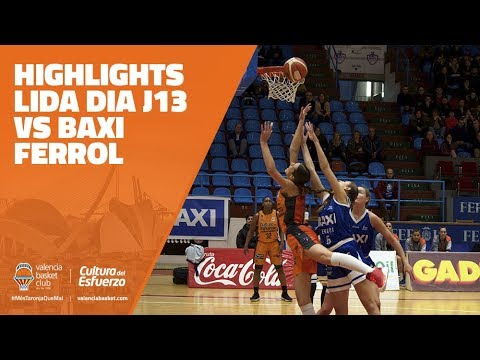 Highlights LIGA DIA J13 vs BAXI Ferrol