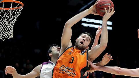 Valencia Basket se lleva el duelo español en la Eurocup (85-74)
