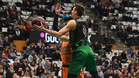 Nenad Dimitrijevic bate su récord de valoración en Liga Endesa