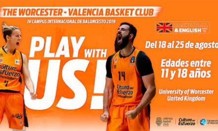 Valencia Basket y University of Worcester lanzan la 4ª edición de su Campus