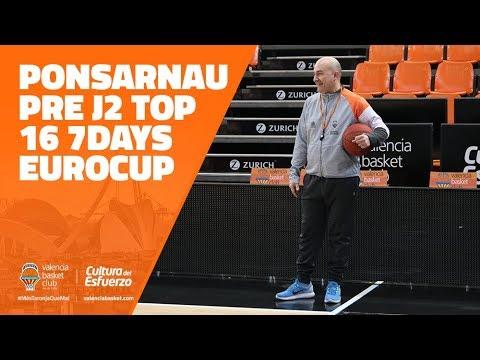 Ponsarnau pre J2 Top 16 en Limoges CSP