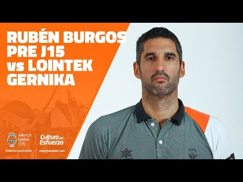 Rubén Burgos pre J15 vs Lointek Gernika