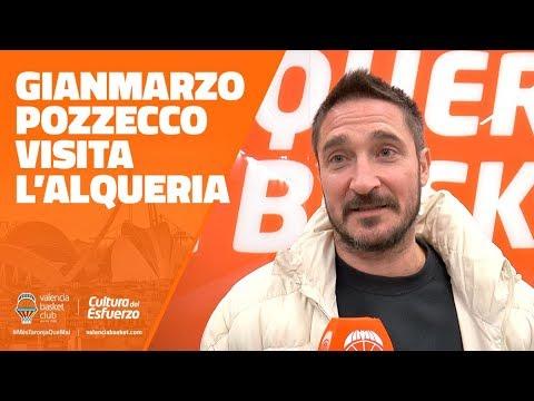 Gianmarco Pozzecco visita L'Alqueria