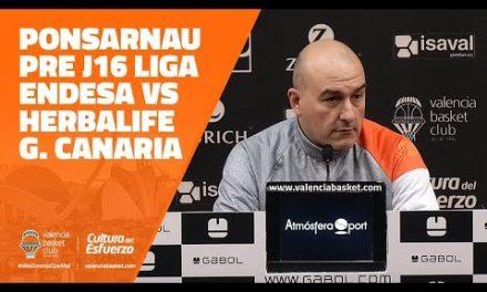 Ponsarnau pre J16 Liga Dia vs Herbalife Gran Canaria