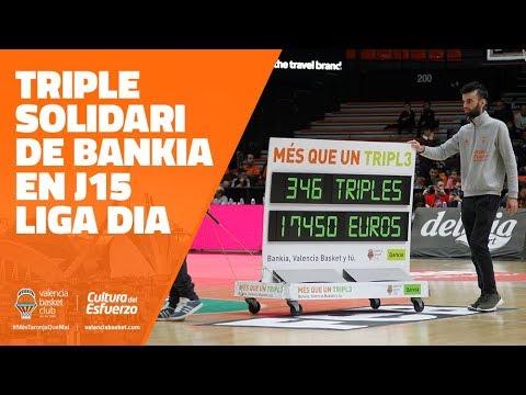 Triple solidari de Bankia en la J15 de LIGA DIA
