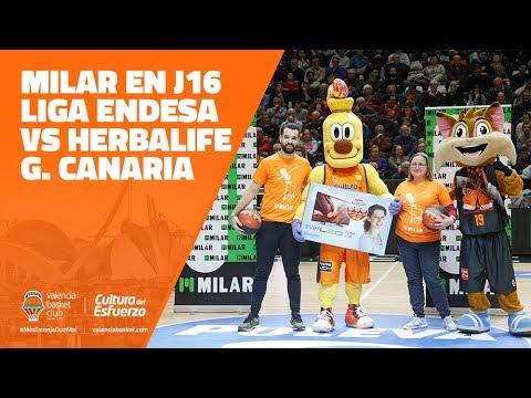 MILAR en J16 Liga Endesa vs Herbalife Gran Canaria