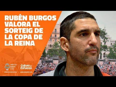Rubén Burgos valora el sorteo de la Copa de la Reina