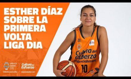 Esther Diaz sobre la primera vuelta liga DIA