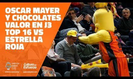 Oscar Mayer y Chocolates Valor en J3 Top 16 vs Estrella Roja
