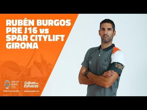 Rubén Burgos PRE J16 vs Spar Citylift Girona