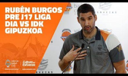 Rubén Burgos pre J17 Liga Dia vs IDK Gipuzkoa