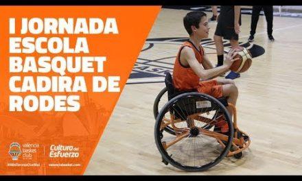 I Jornada Escola de basket en cadira de rodes
