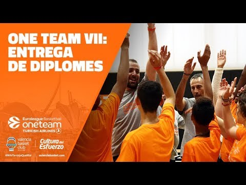 One Team VII: Entrega de diplomas