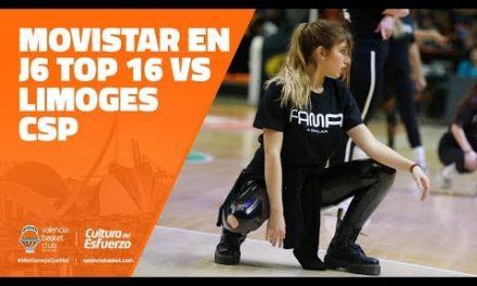 Movistar en J6 Top 16 7DAYS Eurocup vs Limoges CSP