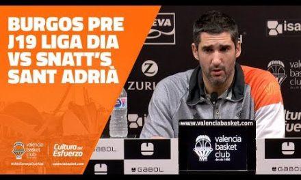 Rubén Burgos pre J19 Liga Dia vs Snatt's Sant Adrià